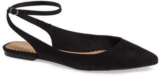Mia Violetta Ankle Strap Flat (Women)