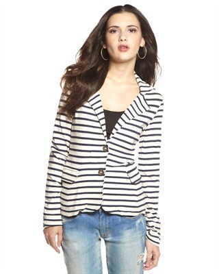 Splendid Striped Palm Desert Blazer