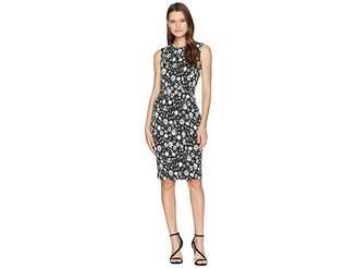 Calvin Klein Floral Print Sheath Dress CD8CPA00
