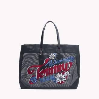 Tommy Hilfiger Mesh Convertible Tote