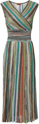 Missoni Striped Lurex Midi Dress