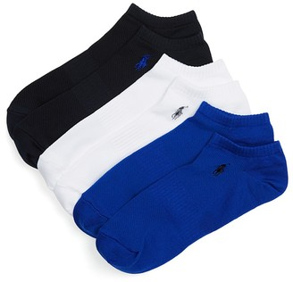 Polo Ralph Lauren Athletic Ankle Socks, Pack of 3 $18 thestylecure.com