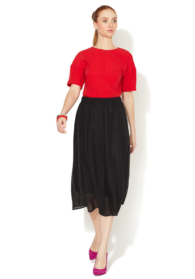 Marc by Marc Jacobs Shelly Silk Voile Skirt