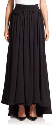 Escada High-Low Maxi Skirt