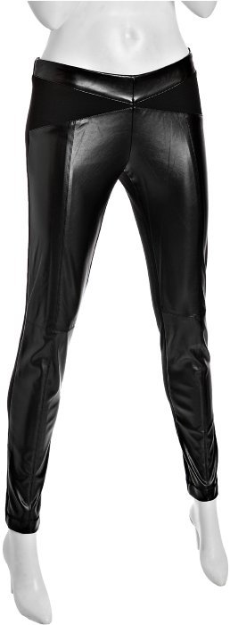 BCBGeneration black faux leather skinny pants