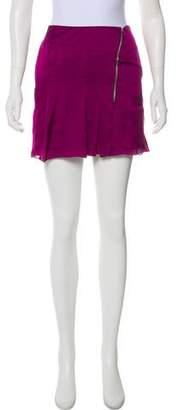 CNC Costume National C'N'C Satin Mini Skirt