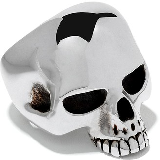 The Great Frog medium skull ring