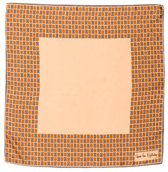 Diane von Furstenberg Silk Printed Scarf $55 thestylecure.com