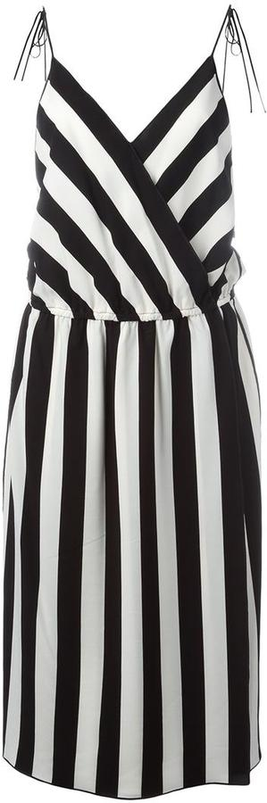Marc JacobsMarc Jacobs striped mid dress
