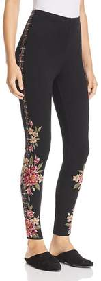 Johnny Was Joanna Embroidered Leggings