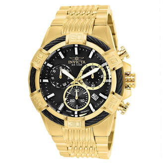 Invicta Bolt Unisex Gold Tone Strap Watch-25867