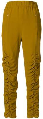 Leroy Veronique gathered leg trousers