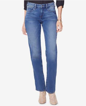 NYDJ Marilyn Uplift Tummy-Control Straight-Leg Jeans, In Regular & Petite Sizes