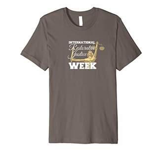 Justice International Restorative Week Premium T-Shirt
