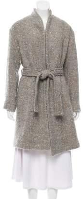 IRO Wool Blend Trench Coat