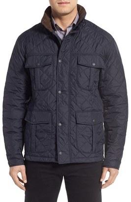Men's Barbour 'Explorer' Water-Resistant Quilted Utility Jacket $249 thestylecure.com