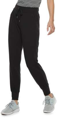 Tek Gear Women's French Terry Mid-Rise Jogger Sweatpants