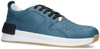 Bottega Veneta Leather Grand Intrecciato Sneakers