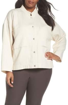 Eileen Fisher Short Organic Cotton Jacket