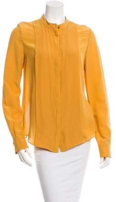 Rachel Zoe Long Sleeve Button-Up Top