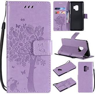 HAOTP Galaxy S9 Wallet Case