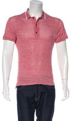 Orlebar Brown Knit Polo Shirt