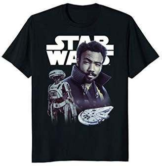 Star Wars Han Solo Movie Lando Story Logo Graphic T-Shirt