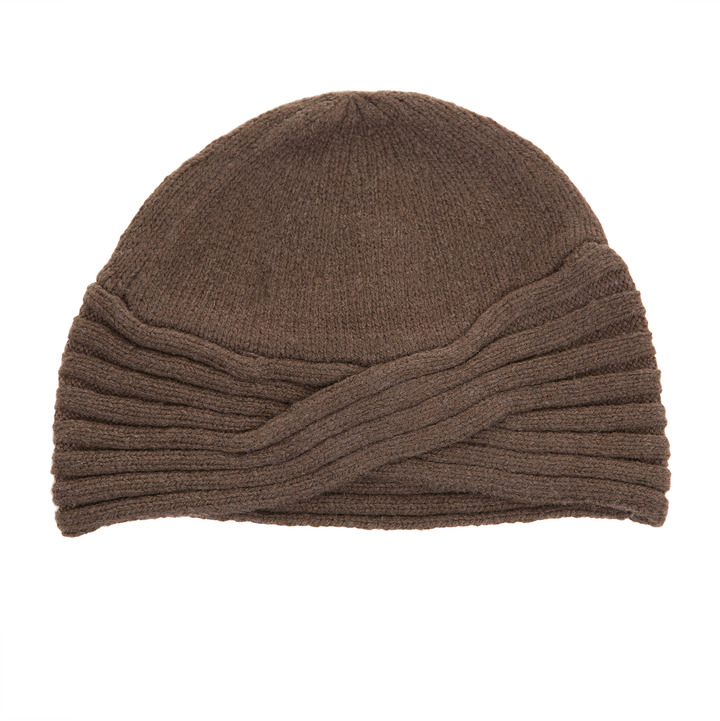 Max Studio Knit Turban Hat