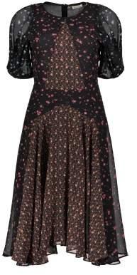Masscob Sale - Flower Silk Dress