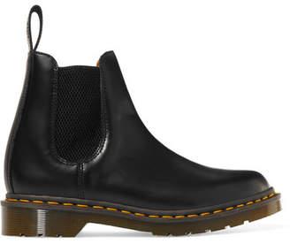 Comme des Garcons Dr. Martens Leather Chelsea Boots - Black
