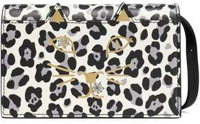 Charlotte Olympia Printed Leather Shoulder Bag