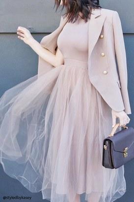 FOREVER 21+ Tulle Maxi Dress $34.90 thestylecure.com