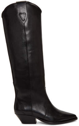 Isabel Marant Black Denvee Boots