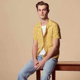 Sandro Short-sleeved shirt with floral print