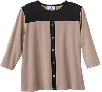 Chanel Silverts Disabled Elderly Needs Classic Adaptive Top For Women - MED