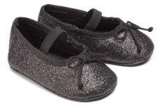 Baby's Allie Sparkle Ballet Flats $34 thestylecure.com