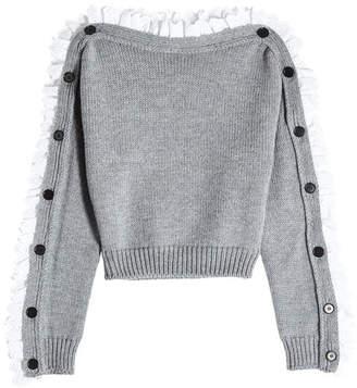 Philosophy di Lorenzo Serafini Virgin Wool Pullover with Trim