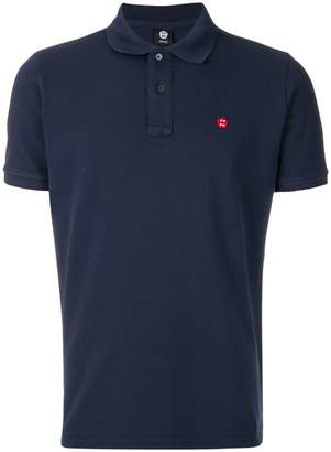 Aspesi embroidered patch polo shirt