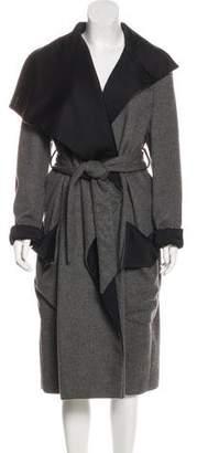 Stella McCartney Wool-Blend Long Coat
