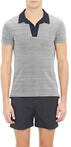 Orlebar Brown Men's Felix Polo Shirt-Gray