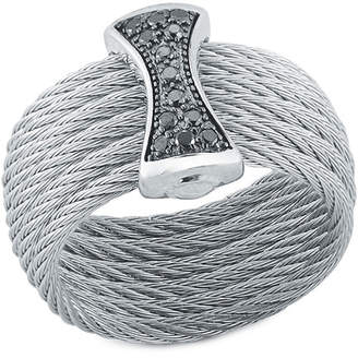 Alor Classique 18K 0.12 Ct. Tw. Black Diamond Ring