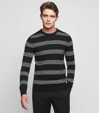 Reiss Magic Long-Sleeved Crew-Neck Jumper