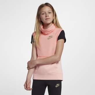 Nike Sportswear Modern Older Kids'(Girls') Sleeveless Funnel Top