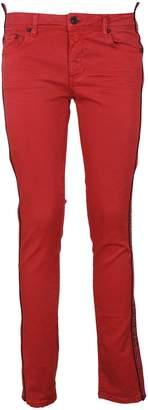 Off-White Stretch Skinny Jeans