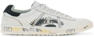Premiata White Andy_3094 printed sneakers