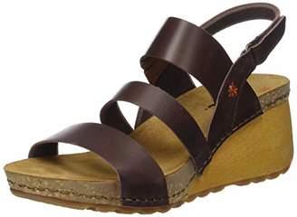 5f04282c454 Art Women s 1320 Mojave Vachetta M.Brown Borne Open Toe Sandals Brown