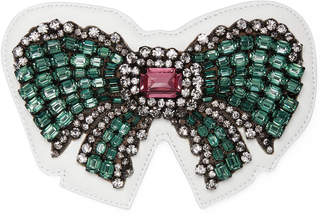 Ace crystal bow patch $350 thestylecure.com