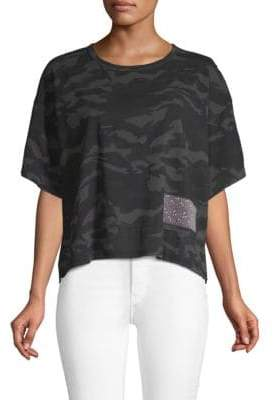 Marc Jacobs Camouflage Cropped Tee