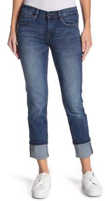 Nicole Miller New York Cortland Tribeca Mid Rise Straight Leg Jeans