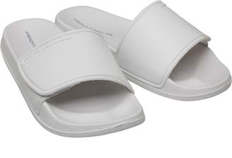 49c1202d1 French Connection Mens FC Strap Sliders White Marine